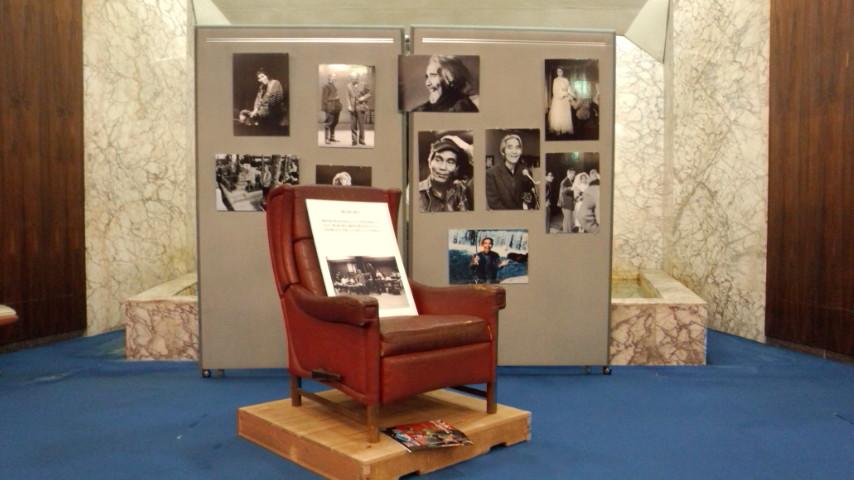 宇野重吉先生が使っていらした椅子