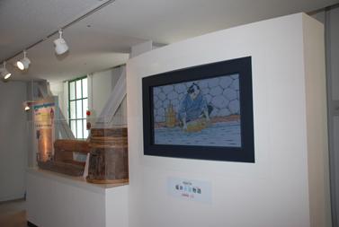 江戸時代の水道展示